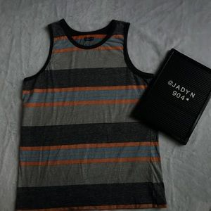 Levi's Multi- Colored Stripped Tank Top